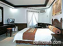 Keraton Bali - standard cottages double bed