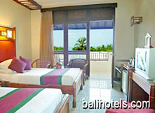 Kuta Seaview - Superior room double bed