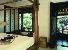 Bali Sani room with double bed