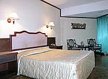 Bali Dwira Hotel - deluxe room double bed