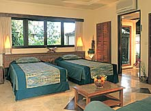 Hotel Villa Lumbung - superior room with twin beds