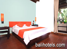 Pertiwi Resort & Spa - deluxe room double bed